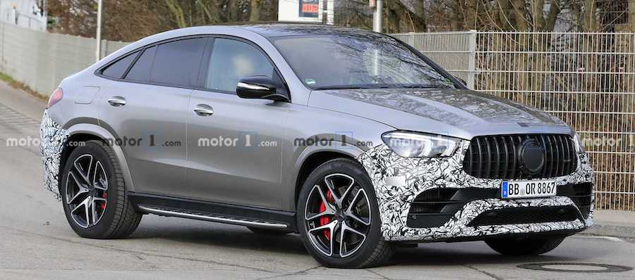 2021 Mercedes-AMG GLE 63 Coupe Spied Practically Naked