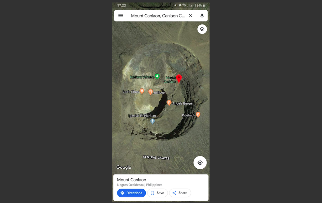 Don't Use Google Maps to Drive to a Burger Place or You'll End Up in a Volcano