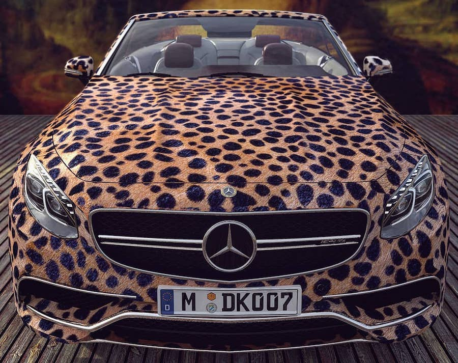 Animal Print S63 Cabrio and McLaren 675LT Seem Russian