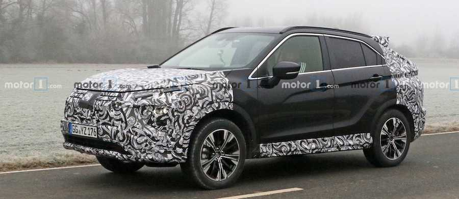 Mitsubishi Eclipse Cross Facelift Spied For The First Time