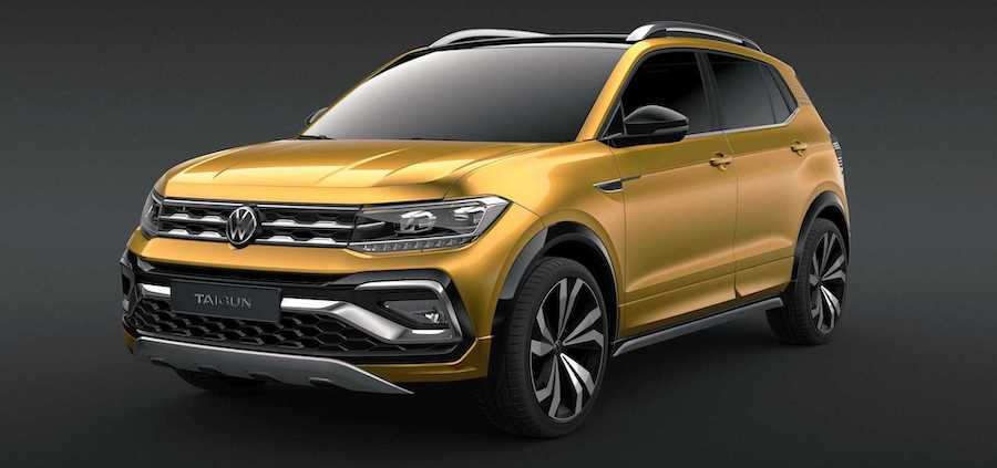 VW Taigun Returns As Small Crossover With T-Cross Looks