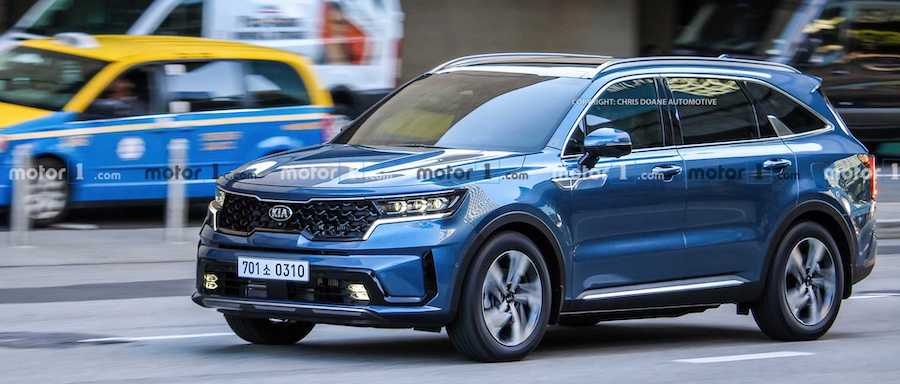 2021 Kia Sorento Spied Completely Undisguised On The Road