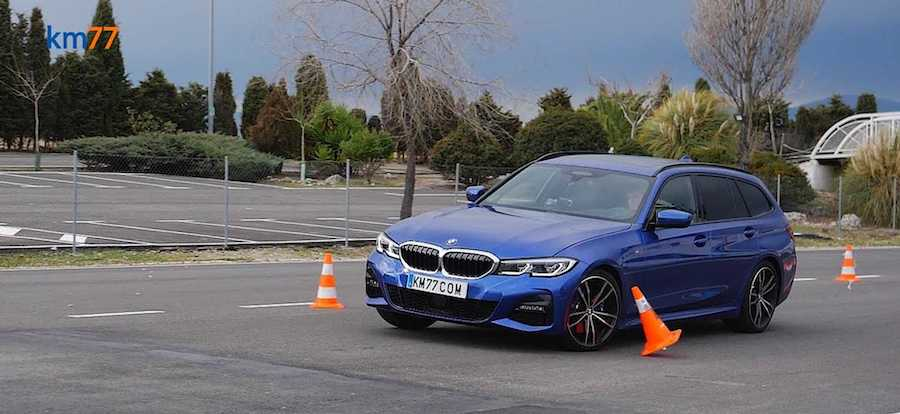 BMW 3 Series Wagon Excels In Moose Test