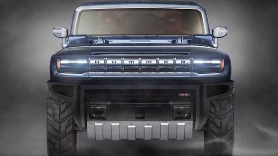 Hummer Electric Pickup Truck Rendered As Bold HX-Like Off-Roader