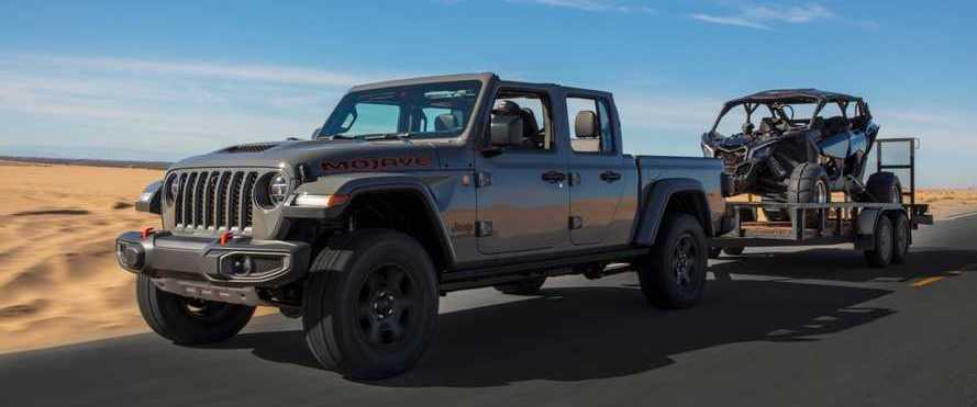 Jeep Gladiator Mojave, High Altitude Debut With Catalog Of Extras
