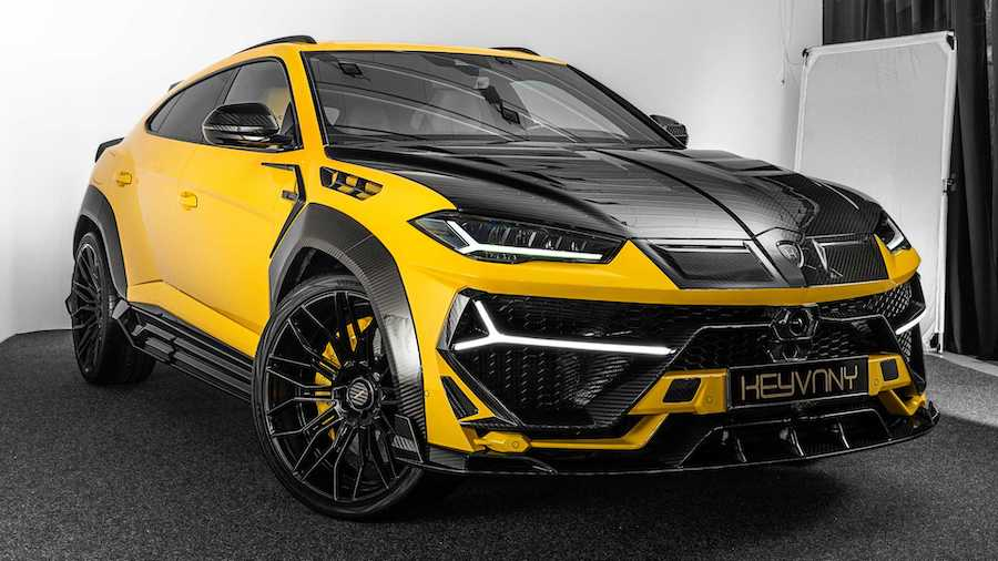 325 kmh Lamborghini Urus Gets Outlandish Looks, 820 HP From Tuner