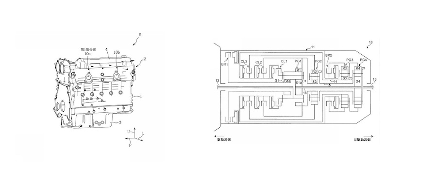 Mazda Patents Straight-Six Engine, Eight-Speed Automatic Transmission