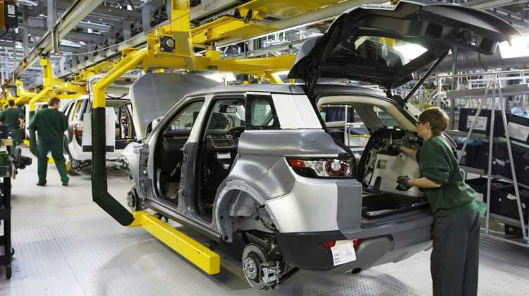 Jaguar Land Rover to cut production at two plants