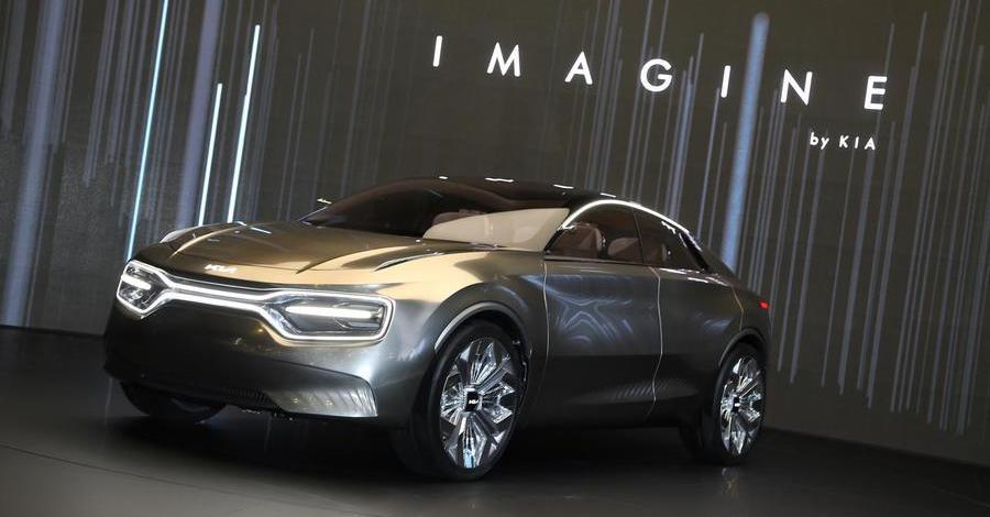 Next Kia EV will be large SUV-saloon based on Imagine concept