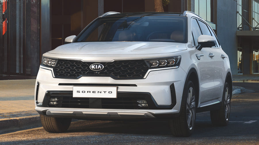 New Kia Sorento revealed, showing plusher upmarket design