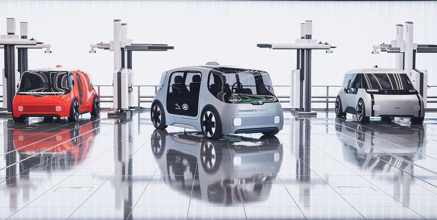 Jaguar Land Rover reveals secret autonomous Project Vector