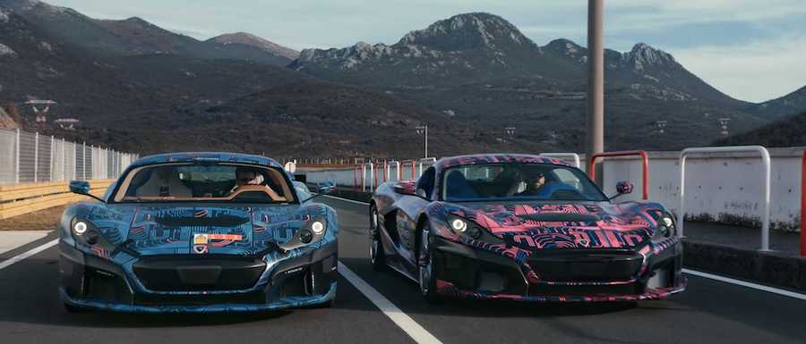 Rimac C_Two Prototypes Testing On A Track Sounds Like The Future