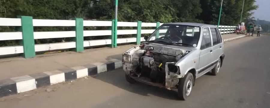 This Maruti 800 Is The Cheapest EV Conversion We've Ever Seen