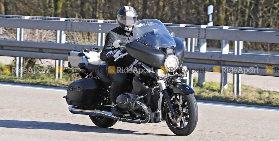 Spotted: The BMW R18 Bagger Looks Almost Ready For Its Debut