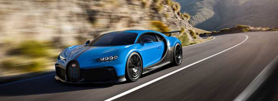 Bugatti Chiron Pur Sport Is A $3.55-Million, 1,500-HP Track Toy