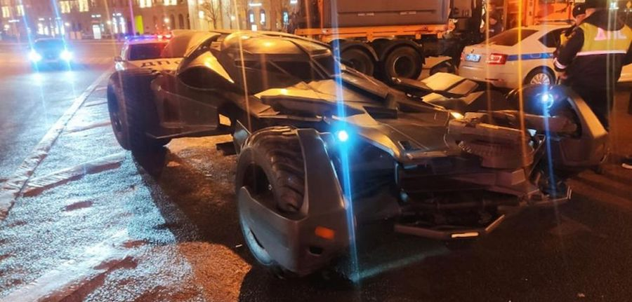 Insane Batmobile replica seized by police in Moscow