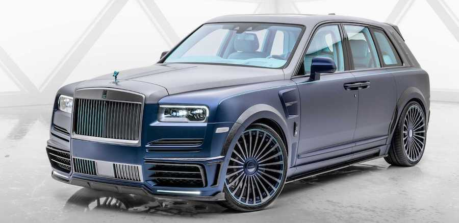 Rolls-Royce Cullinan By Mansory Is Anything But Subtle
