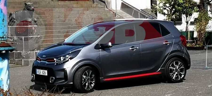 2021 Kia Picanto Facelift Spied Without Any Camouflage