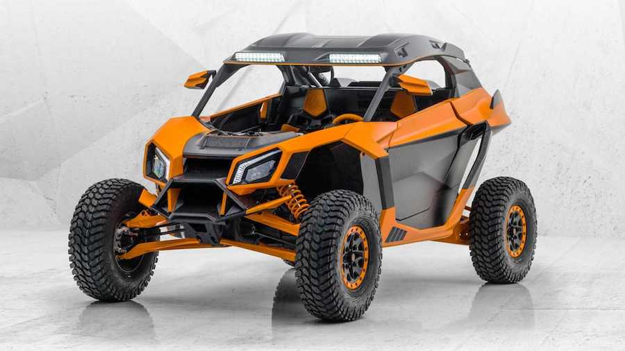 Not Even The Can-Am Maverick Is Safe From Mansory's Wild Tuning