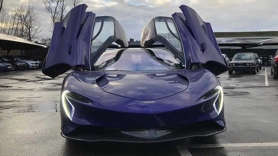 2020 McLaren Speedtail Production Car Shows Its Unworldly Shape
