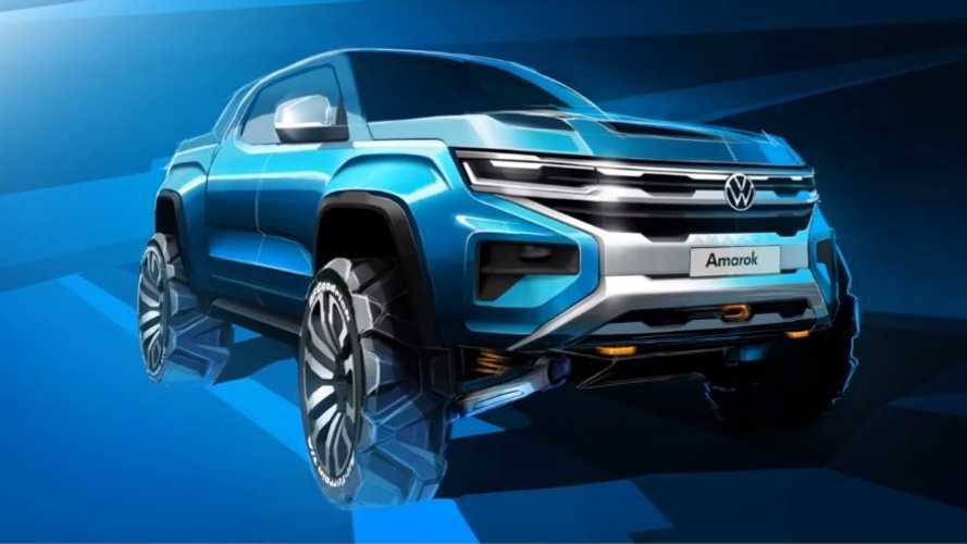 2022 Volkswagen Amarok Teased For The First Time, Ford Is Involved