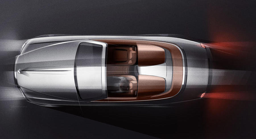 Rolls-Royce reveals Dawn roadster special edition
