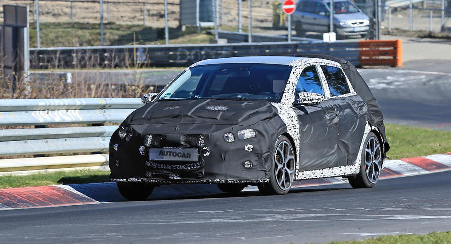 2021 Hyundai i20 N: new hot hatch testing at Nurburgring