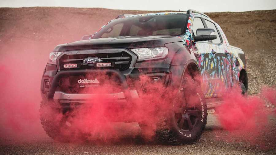 Ford Ranger Gets Beefy Body And Lift Kit From German Tuner