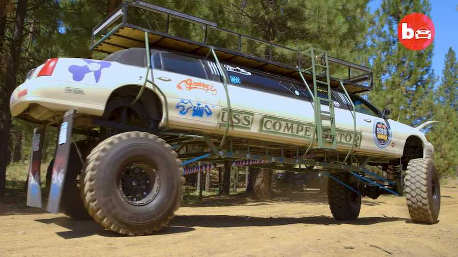 Crazy Lincoln Monster Truck Limo Proves Too Much Is Never Enough