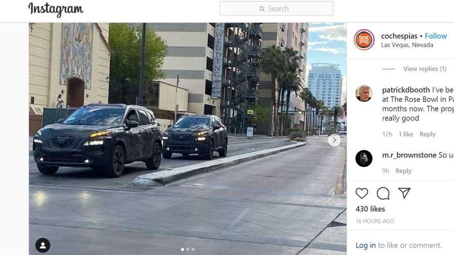Next-Gen Nissan Rogue Prototypes Spied On The Streets Of Las Vegas
