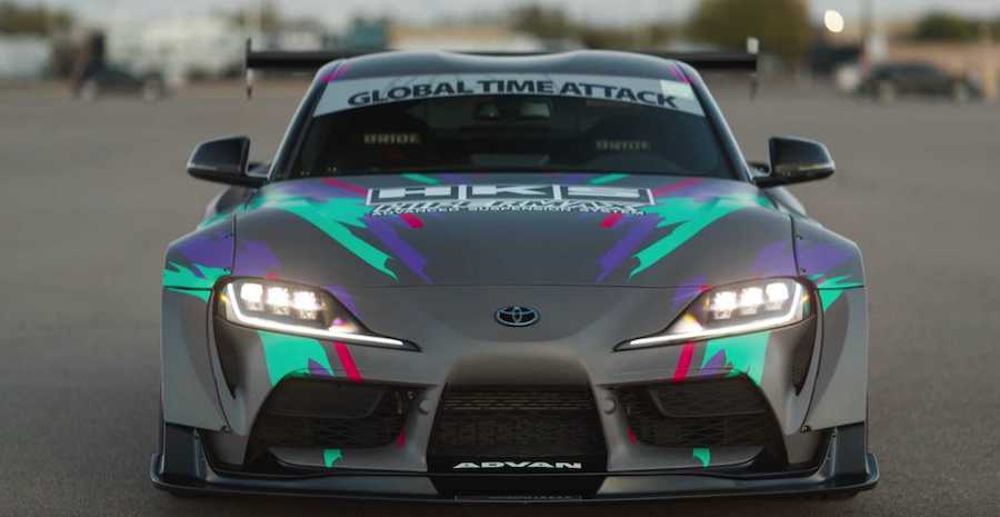 HKS Ultra-Widebody Toyota Supra Looks Snazzy And Is Street-Legal