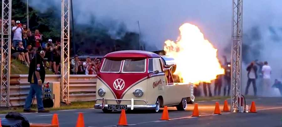 1958 VW Van With Rolls-Royce Jet Engine Is Truly Ludicrous