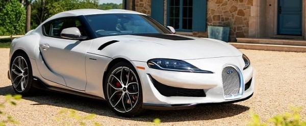 Toyota Supra With Bugatti Grille Is Almost Good, But a Speedster Is Perfect