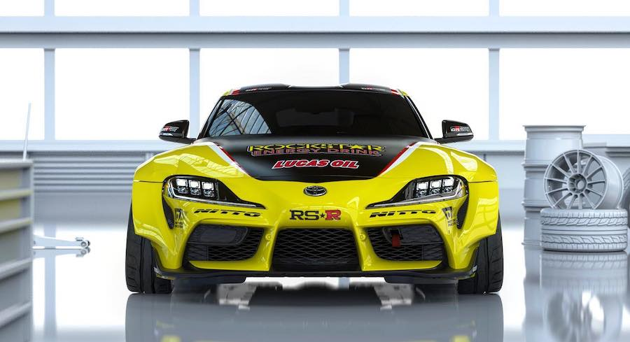 1,033-Horspower Toyota Supra Drift Car Was Built To Slay Tires