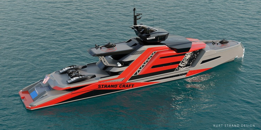 Strand Craft's Miami Superyacht Is Green, Fancy and Can Double as Rescue Vessel