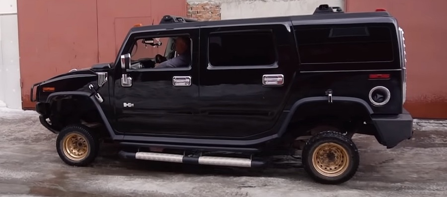 Hummer H2 On 13-Inch Wheels Is The Opposite Of Pimp My Ride