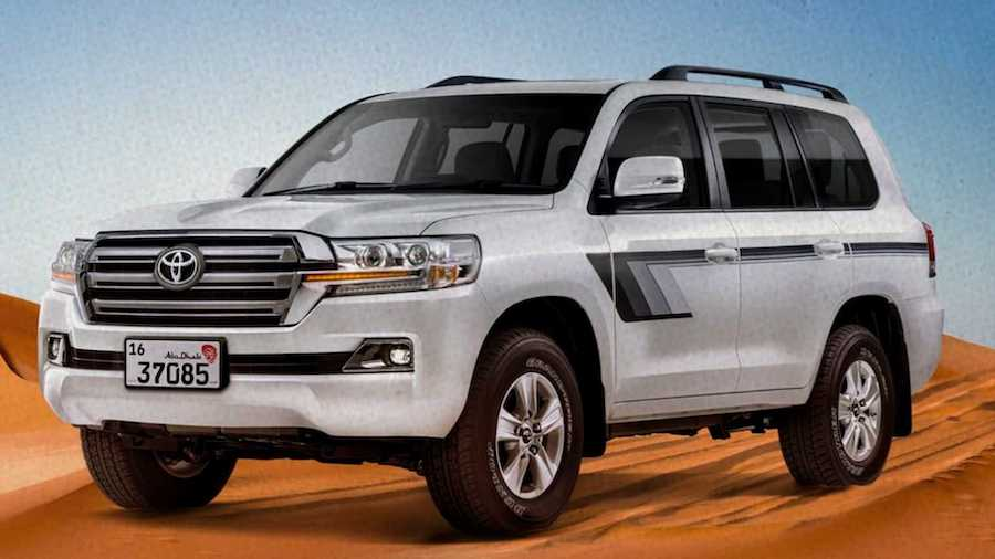 Toyota Land Cruiser Heritage Edition In UAE Has Factory Air Compressor