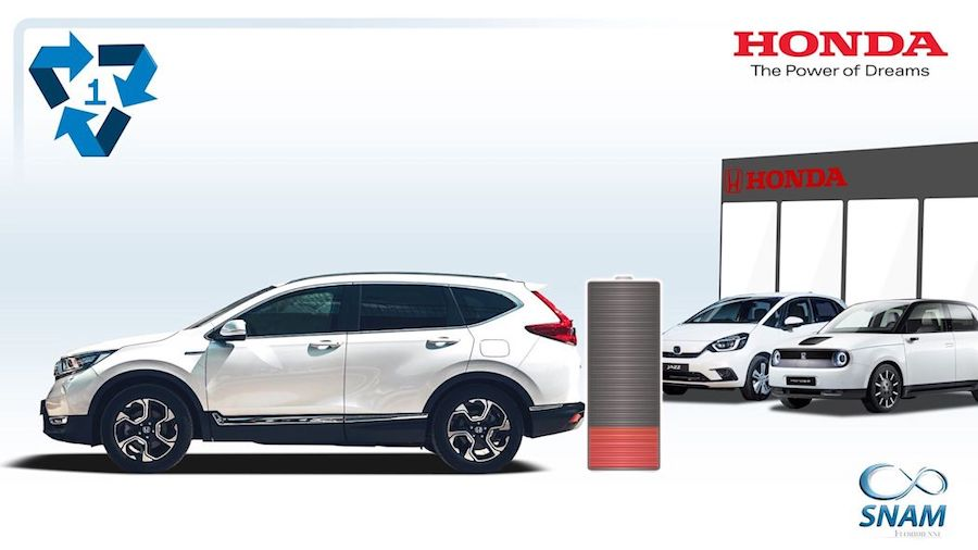 Honda Europe reveals how it will recycle EV and hybrid batteries