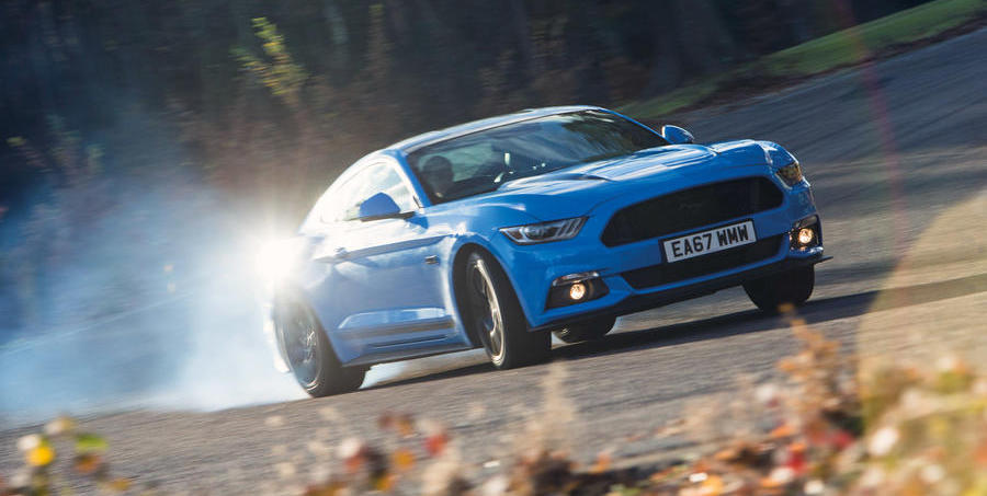 New Mustang to go four-wheel drive with hybrid V8