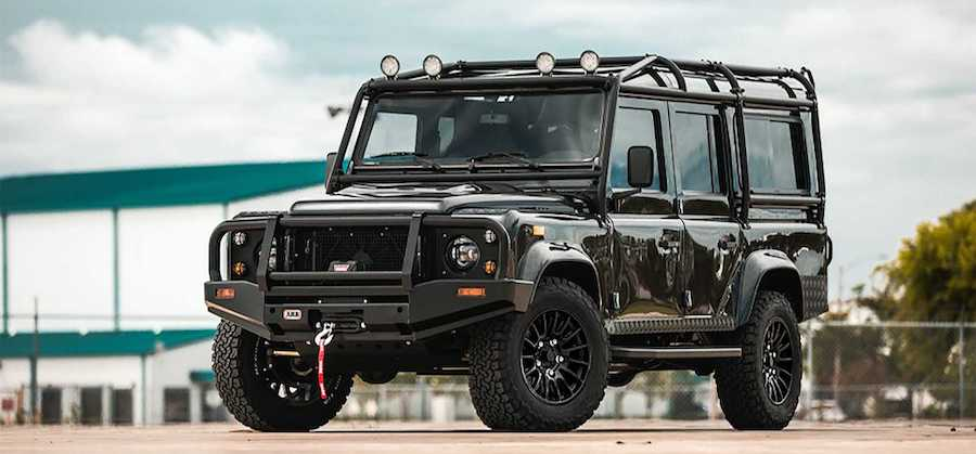 Buy A Tesla-Powered Electric Defender, But Not From Land Rover