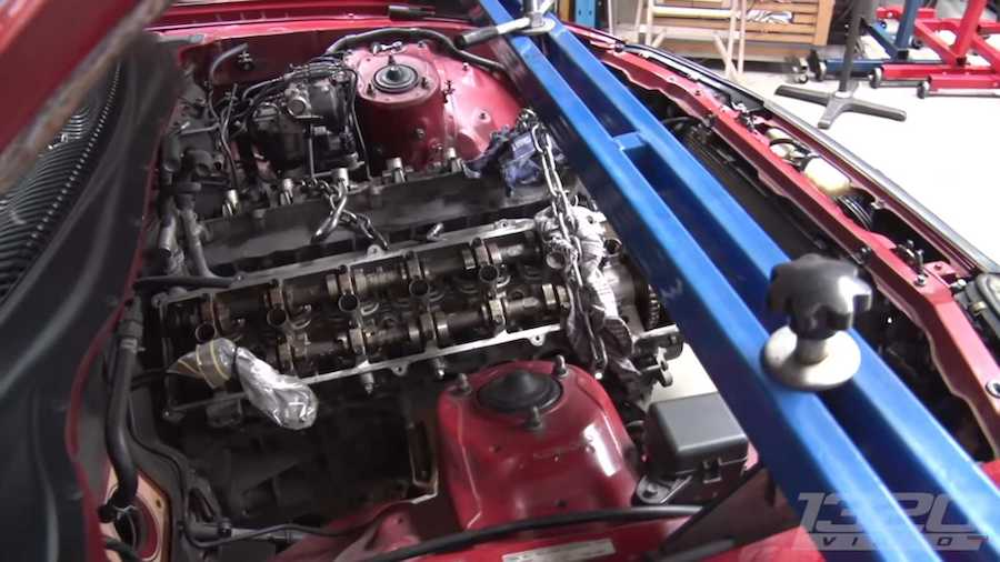 Toyota Supra With V12 Engine Is Not Something You See Every Day