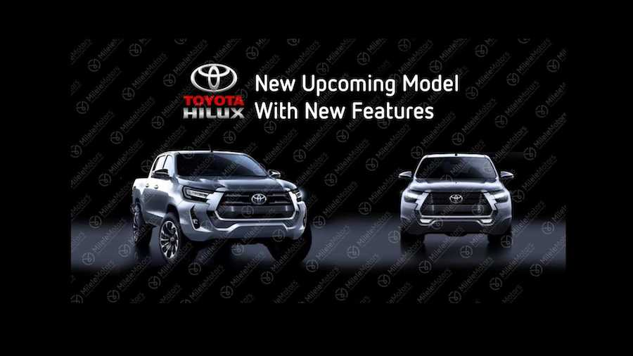 Is This The 2021 Toyota Hilux Facelift?