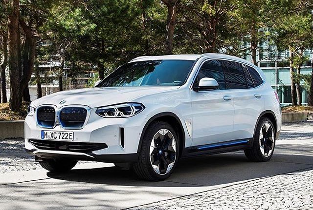 BMW iX3 Official Images Allegedly Leaked On Instagram