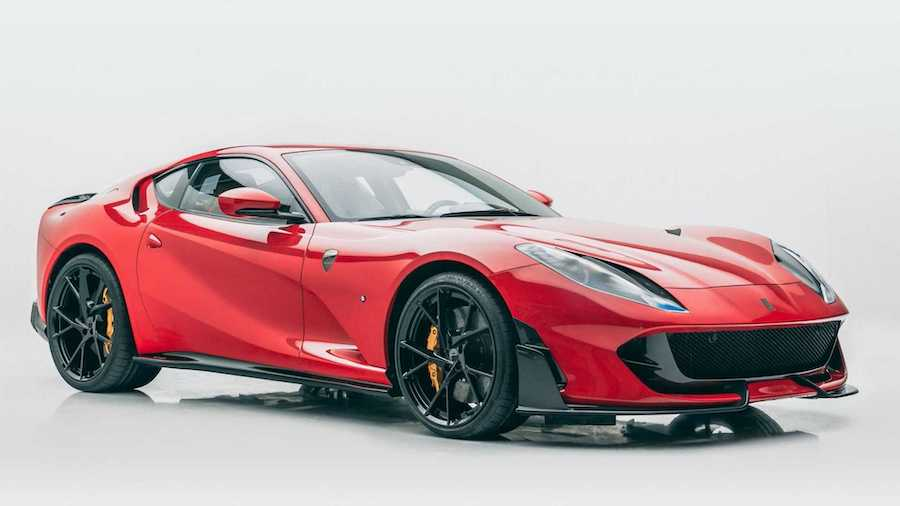 Ferrari 812 Superfast Softkit Is A Rare Subtle Tuning By Mansory