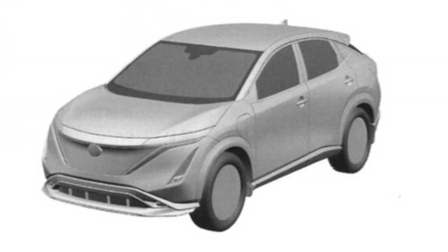 Nissan Ariya Production Version Possibly Leaked Via Patent Office