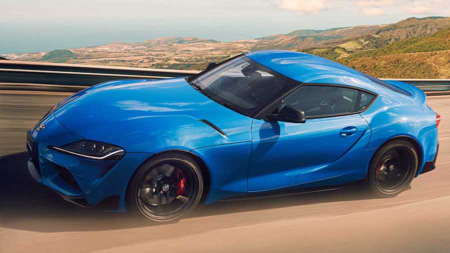 2021 Toyota Supra gets limited Horizon Blue in Japan with more power