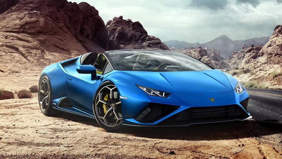 New Lamborghini Huracan Evo RWD Spyder revealed
