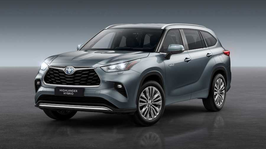 Toyota Highlander Revealed For Europe, Goes On Sale In 2021