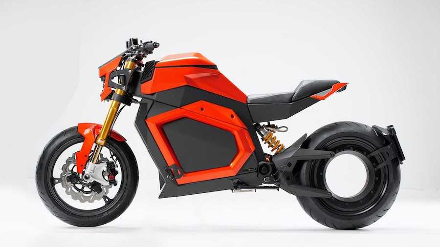 Futuristic Electric Bike On The Verge Of Production