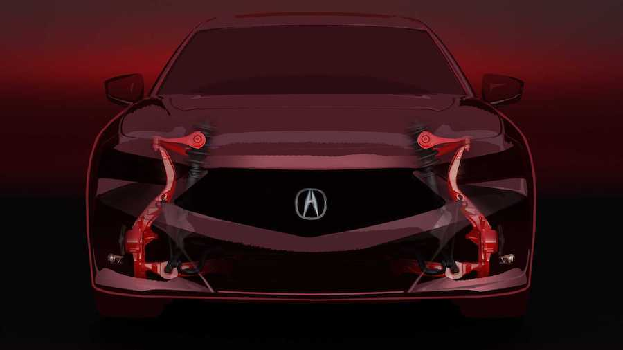 2021 Acura TLX Teases New Suspension, Promises Sharper Cornering